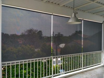 Roller Blind Outdoor Suntex onna